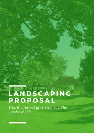 Landscaping Brochure
