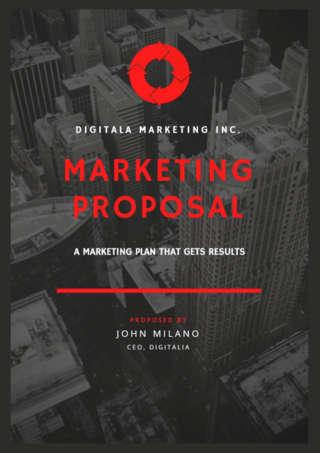 Marketing Services Brochure