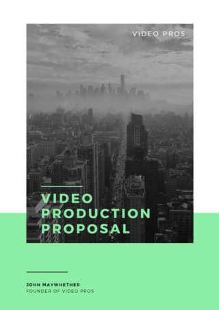 Video Production Brochure
